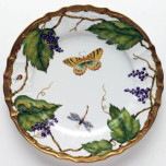 Wildberries Lavender Dinnerware | Gracious Style