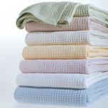 Kingston Waffle Cotton Blanket | Gracious Style