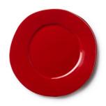 Lastra Red Dinner Plate