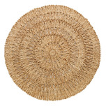 Straw Loop Round Placemat Natural 16