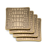 Crocodile Coaster Set, Four