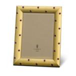 Atelier Frames Florentine Cabochon Gold Vermeil & Amethyst Stones 5 x 7 in