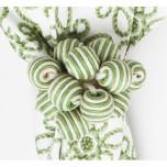 Stripe Bead Bouquet Napkin Ring Pistachio 3