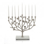 Botanical Leaf Menorah | Gracious Style