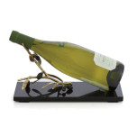 Olive Branch Gold Wine Rest