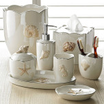 Mare Shells Pearl Bath Accessories