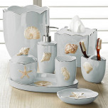 Mare Shells Seafoam Bath Accessories
