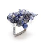 Bouquet Indigo/Periwinkle Napkin Rings
