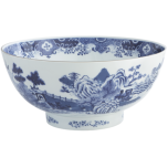 Blue/White Punch Bowl