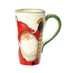 Old St. Nick Boxed Latte Mug