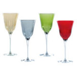 Optical Color Glassware | Gracious Style