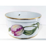 Pink Lily Round Bowl