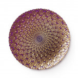 Peacock Purple Dinnerware