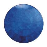 Round Capiz Cobalt Placemats