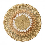 Saint-Tropez Placemats - Natural/Ivory/Gold
