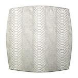 Metallic Anaconda Silver Placemats | Gracious Style