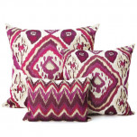 Kim Seybert Ikat Throw Pillows | Gracious Style