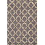 Dash & Albert Plain Tin Charcoal Wool Rug | Gracious Style