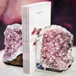 Fim Bookends Amethyst (Set Of 2)