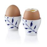 Blue Fluted Mega Egg Cup (Set of 2) 2 in
