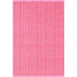 Fair Isle Pink/Fuchsia Cotton Woven Rug