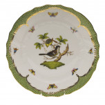 Rothschild Bird Green Border Dinnerware