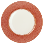 Red Lace Service Plate