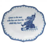Great Is The Man....Ring Tray