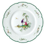 Si Kiang #5 Dinner Plate 10.5 in Round