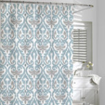 Waterproof Fabric Shower Curtains: Cotton, Matelasse | Gracious Style