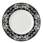 Steampunk Black with White Dinnerware