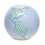 Globe 3.25 In H X 3.5 In D , Shaded Vhv