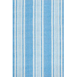 Sail Stripe Blue Woven Cotton Rug