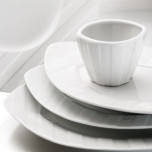 Royal Limoges Saturne White Dinnerware | Gracious Style