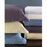 Sferra Asti Quatrefoil Coverlet and Shams | Gracious Style