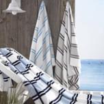 Spiaggia Marina Beach Towel 40 x 70 in | Gracious Style