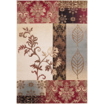 Riley RLY5014 Floral Polypropylene Machine Made Rugs