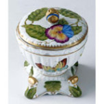 Giftware Boudoir Covered Box 5 in High | Gracious Style