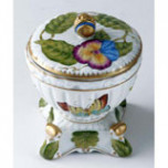 Boudoir Covered Box 5 in High | Gracious Style