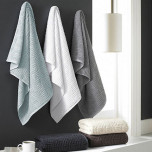 Vegas Geo Bath Towels by Trump for Kassatex | Gracious Style