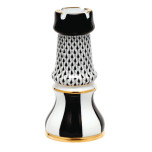 Chess Rook 2.5 In L X 5.25 In H, Fishnet Black