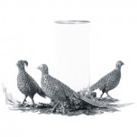 Pheasant Candle Centerpiece, 17 in D x 10 in T