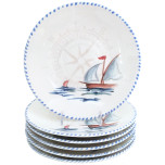 Sailboat Dinnerware