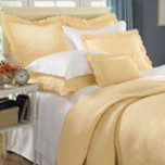 Alice Quilted Egyptian Cotton Coverlet   Gracious Style