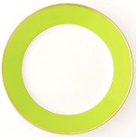 Arc-en-Ciel Almond Green Dinnerware
