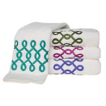 Twist Bath Towels | Gracious Style