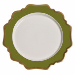 Anna's Palette Meadow Green Dinnerware