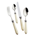 Antique Ivory Stainless Flatware