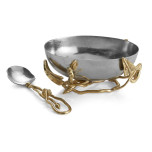 Enchanted Garden Nut Bowl with Spoon