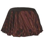 Custom Belvedere Burgundy Taffeta Tablecloth | Gracious Style
